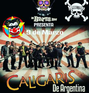Los Caligaris En San Diego - rock en espa�ol - rockeros.net