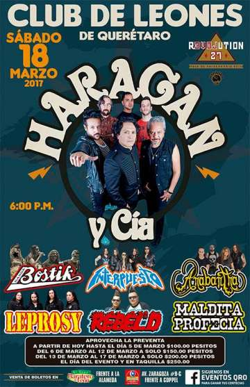 El Haragan Tour Revolution 27 - rock en espa�ol - rockeros.net