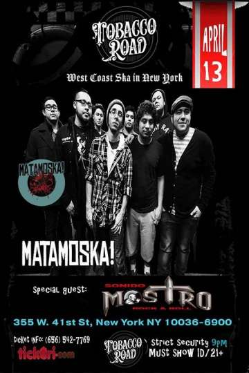 Matamoska West Coast Ska In New York - rock en español - rockeros.net