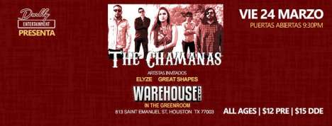 The Chamanas En El Warehouse Live Houston Texas - rock en espa�ol - rockeros.net