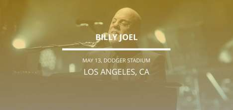 Billy Joel En Los Angeles - rock en espa�ol - rockeros.net