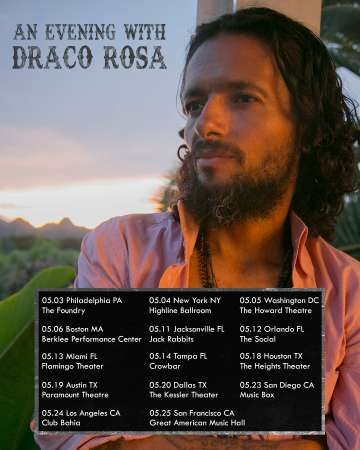 An Evening With Draco Rosa En Dallas - rock en espa�ol - rockeros.net