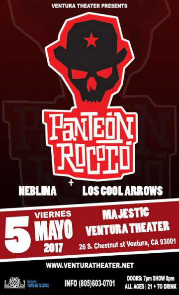 Panteon Rococo Majestic Ventura Theater Mayo 5 2017 - rock en espa�ol - rockeros.net