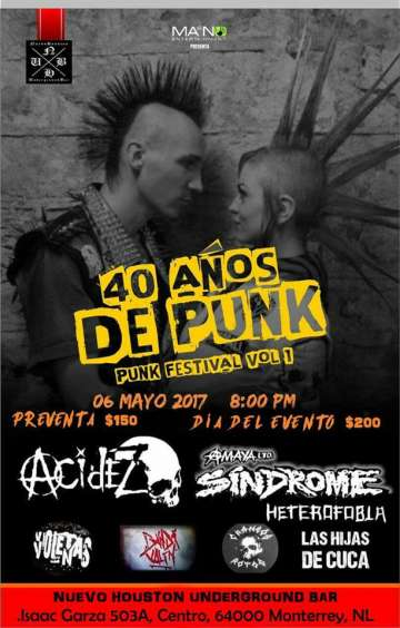 Punk Festival Vol 1 - rock en espa�ol - rockeros.net