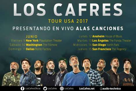 Los Cafres En El The Regency Ballroom San Francisco Ca - rock en espa�ol - rockeros.net