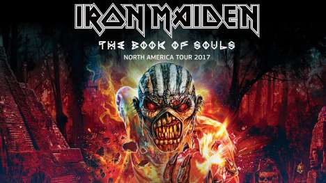 Iron Maiden Book Of Souls North America Tour 2017 - rock en espa�ol - rockeros.net