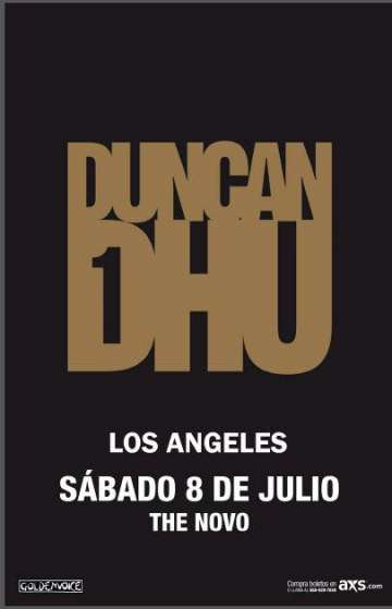 Duncan Dhu En El Novo De Downtown Los Angeles California - rock en espa�ol - rockeros.net