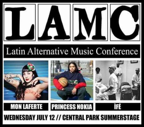 Summerstage Showcase En Central Park Con Mon Laferte - rock en espa�ol - rockeros.net
