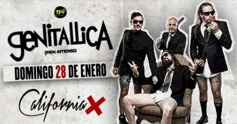 Genitallica En Los Angeles - rock en espa�ol - rockeros.net