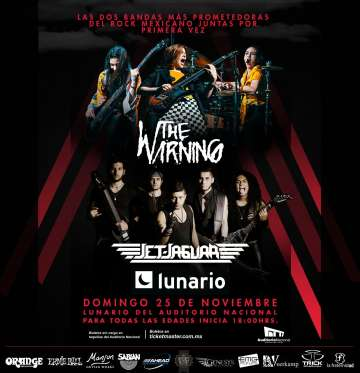 The Warning Y Jet Jaguar Juntos En El Lunario De Cdmx - rock en espa�ol - rockeros.net