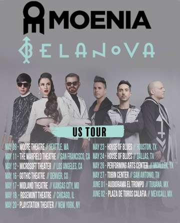 Belanova Y Moenia Usa Tour 2018 Los Angeles Ca - rock en espa�ol - rockeros.net