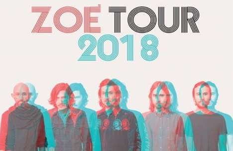 Zoe Tour 2018 En El Riverside Municipal Auditorium Riverside Ca - rock en espa�ol - rockeros.net
