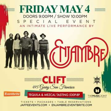 Pre-celebration 5 De Mayo Enjambre En El Clift San Francisco Ca - rock en espa�ol - rockeros.net