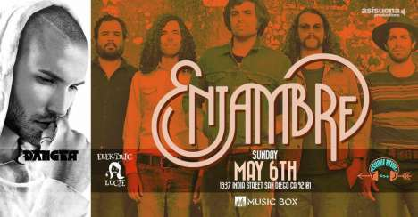 Enjambre En El The Music Box San Diego Ca - rock en español - rockeros.net