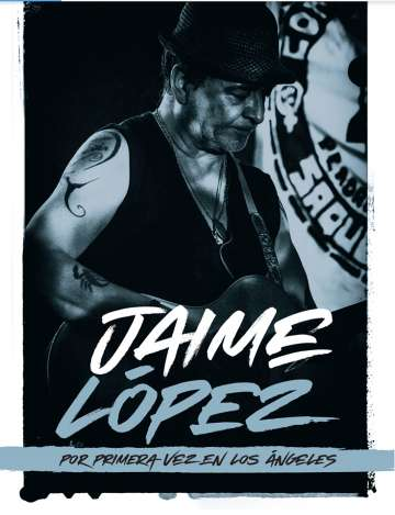 Jaime Lopez En Ls Angeles - rock en espa�ol - rockeros.net