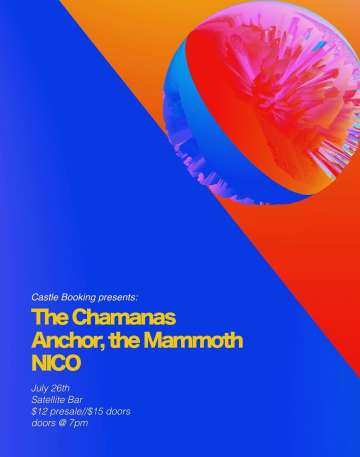 The Chamanas Anchor The Mammoth Y Nico En Satellite Bar Houston Tx - rock en espa�ol - rockeros.net