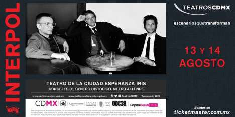 Interpol En Cdmx - rock en espa�ol - rockeros.net