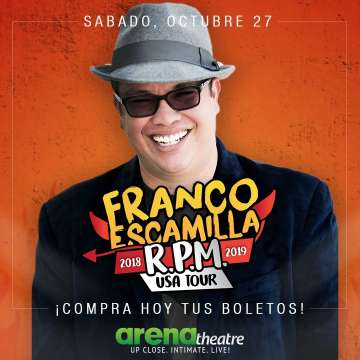 Franco Escamilla En El Arena Theatre Houston Tx - rock en espa�ol - rockeros.net