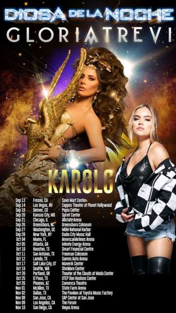 Diosa De La Noche Tour Gloria Trevi En El Smart Financial Center Sugar Land Tx - rock en espa�ol - rockeros.net