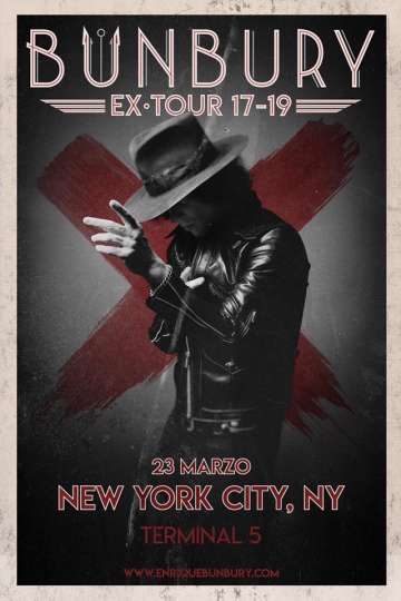 Enrique Bunbury Ex Tour 17- 19 En New York - rock en espa�ol - rockeros.net