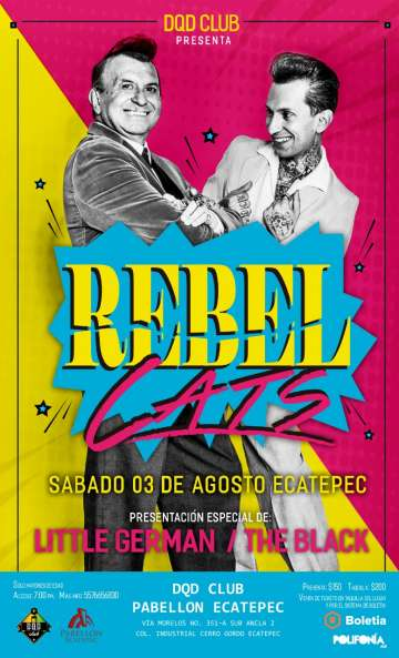 Rebel Cats En Ecatepec - rock en espa�ol - rockeros.net