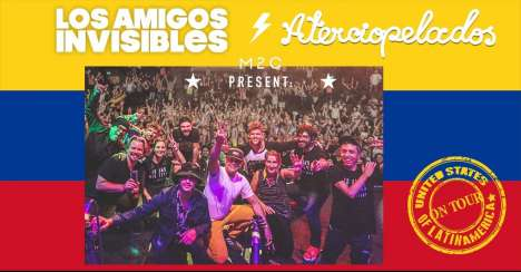 Aterciopelados Y Los Amigos Invisibles En El House Of Blues Houston Tx - rock en español - rockeros.net