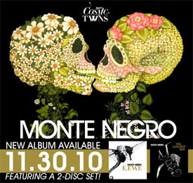 Monte Negro - Cosmic Twins new album on itunes
