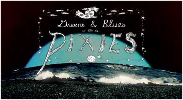 pixies estrena video green and blues